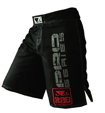 New MMA  Black & White Fighting Glory Muay Thai Boxing Shorts  Free Shipping
