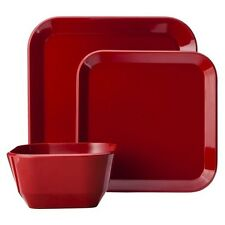 12 Piece Square Dinnerware Set - Room Essentials™