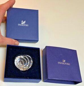 Swarovski Crystal Sea Snail crystal figurine mint in box