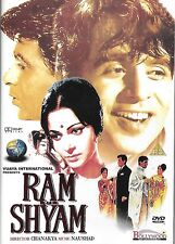RAM AUR SHYAM - DILIP KUMAR, WAHEEDA- NEW RARE APOLLO BOLLYWOOD DVD-ENGLISH SUBS