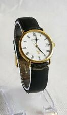 Vintage Raymond Weil 18k Gold Electroplated Quartz Watch
