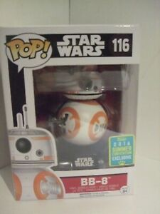 EXCLUSIVE BB-8 with flame thumb up POP vinyl bobble head STAR WARS.