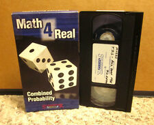 MATH 4 REAL instructional video VHS Combined Probability contests outcomes