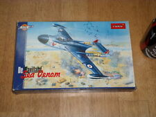 BRITISH, De HAVILLAND - SEA VENOM, FIGHTER PLANE, Plastic Model Kit, Scale 1/72