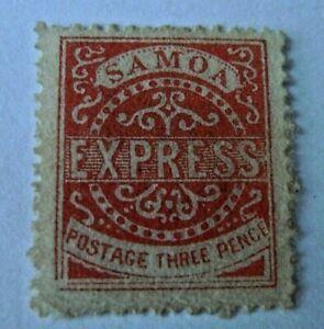 SAMOA OLD STAMP SCOTT # 30 MH CAT $ 65
