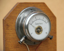 Antique ampermeter wh science instrument