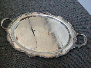 Reed & Barton Tara Hall silver plate tray