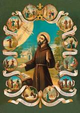 Heiliger Franz von Assisi Franziskus Tierschützer hlg. St. Bü Sankt A3 0098