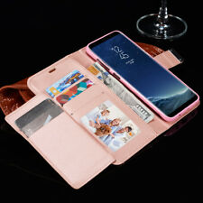 Case Cover For Samsung Galaxy Variou phones Flip Leather Wallet Card Holder