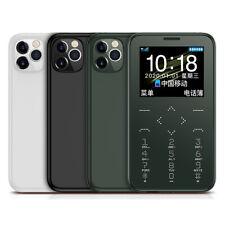 "Mini 7S+ Teléfonos Móviles Cámara Antorcha 1.5"" larga teléfono GSM niños en espera 3 Colores"