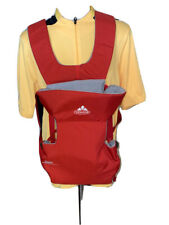Vaude Jolly Comfort Deluxe Hiking Baby Toddler Carrier Eco Green Shape Red