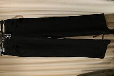 Target Ladies ''City Dressing'' Straight Leg Pants - Black - ''NEW''