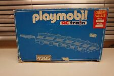 Playmobil-RC Train Track 4385 en boîte 12 Curved pieces of track & 12 Connectors