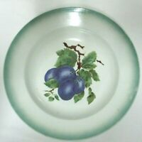 Amandinoise St. Amand France French Antique Serving Bowl Hand Painted Grapes