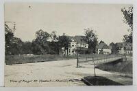Sharon Pa View of Hazel St. Viaduct Early udb Postcard N9