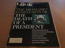 LOOK Magazine March 7 1967 The Death of a President Conclusion JFK Vintage Ads