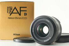 【Mint In Box】Nikon AF Nikkor 35mm f/2 D Wide Angle Lens F Mount From Japan  #116