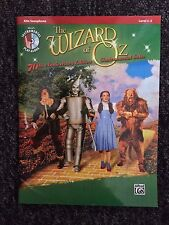 The Wizard of Oz 70th Anniversary Ed. for Alto Sax Level 2-3 (Shop display)