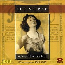 Lee Morse - Morse, Lee : Echo's of a Songbird-50 Recordings from 1924-30 [New CD