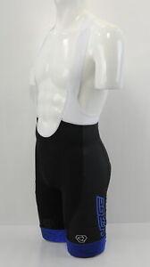 Verge Strike + Men's  Cycling Bib Shorts 3XL Black/Blue Brand New