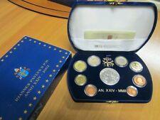 2002 Vaticano Vatikan SERIE DIVISIONALE EURO PROOF KMS PP