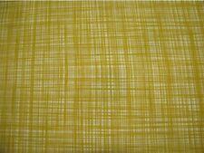 36cm x 51cm Orla Kiely Scribble Cross Hatch Mustard Yellow Fabric NEW