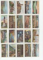 1915 Wills's Overseas Dominions Australia Tobacco Cards Complete Set of 50