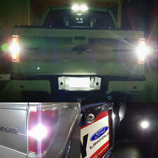 6x Xenon White Reverse Cargo License Plate Lights Bulbs For 2009-2014 F150 F250