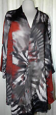 Lockre Sitzende Übergröße Damenblusen,-Tops & -Shirts mit V-Ausschnitt und Viskose