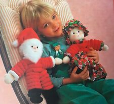 SEWING PATTERN Jean Greenhowe Santa and Mrs Claus Christmas Toy 33cm PATTERN