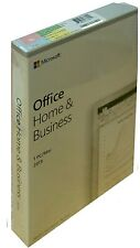 MS Office Home & Business 2019 | Box | Vollversion | Dauerlizenz | 1 PC/Mac | ML
