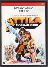 dvd ATTILA FLAGELLO DI DIO Diego ABATANTUONO Rita RUSIC
