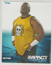Devon Dudley Officially Licensed TNA Wrestling Promo Photo