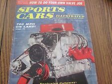 Sports Cars Illustrated November 1960 magazine vintage complete