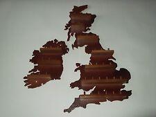 36pc U.K. & Ireland Wooden Thimble Display Racks (Mahogany)(huge range-see list)