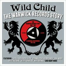 Wild Child - The Warwick Records Story - 75 Various Tracks (3CD 2014) NEW/SEALED