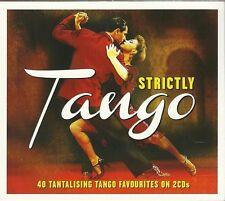 STRICTLY TANGO - 2 CD BOX SET - 40 TANTALISING TANGO FAVOURITES