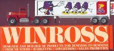 Champion California Raisins '89 Winross Truck