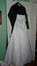 NWT David's Bridal Wedding, Prom, Bridesmaid, Formal Embroidered Dress Size 14
