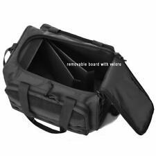 Black Tactical Gun Shooting Range Bag Molle Deluxe Pistol Duffle Bags - FASTSHIP
