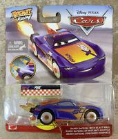 Disney Pixar CARS Rocket Racing Barry DePedal with Blast Wall NIB