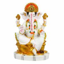New Marble Lord Ganesha Idol God Ganpati Handicraft Statue Figurine Gift