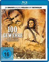 100 GEWEHRE   BLU-RAY NEUF JIM BROWN/RAQUEL WELCH/BURT REYNOLDS/+