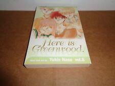 Here is Greenwood vol. 8 by Yukie Nasu Manga Book in English