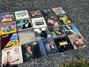 Vinyl Lot of 20 vintage record album collection (LOT RH206) ROCK & ROLL - POP