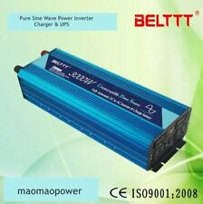 3000W/6000W 12V TO 220V Pure Sine Wave power Inverters +Chargers & UPS For Solar