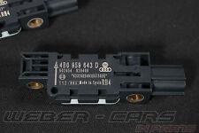 ORIG Audi A3 8P R8 A8 4E Sensor Längsbeschleunigung Crashsensor 4B0959643D