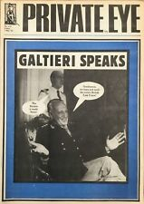 Private Eye 532 Friday 7th May 1982: Galtieri Speaks