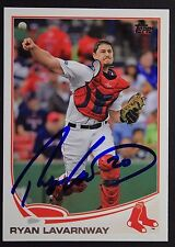 Boston Red Sox Ryan Lavarnway Signed 2013 Topps Autograph Card #644 TOUGH 106