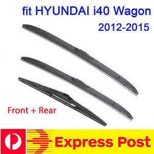Front Windscreen Wiper blades for HYUNDAI i40 i 40 wagon 2012-2015